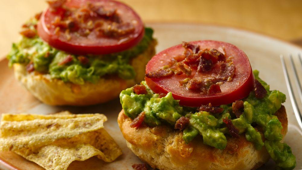 Bacon-Avocado Cheddar Melts