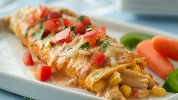 Tex-Mex Chicken Enchiladas