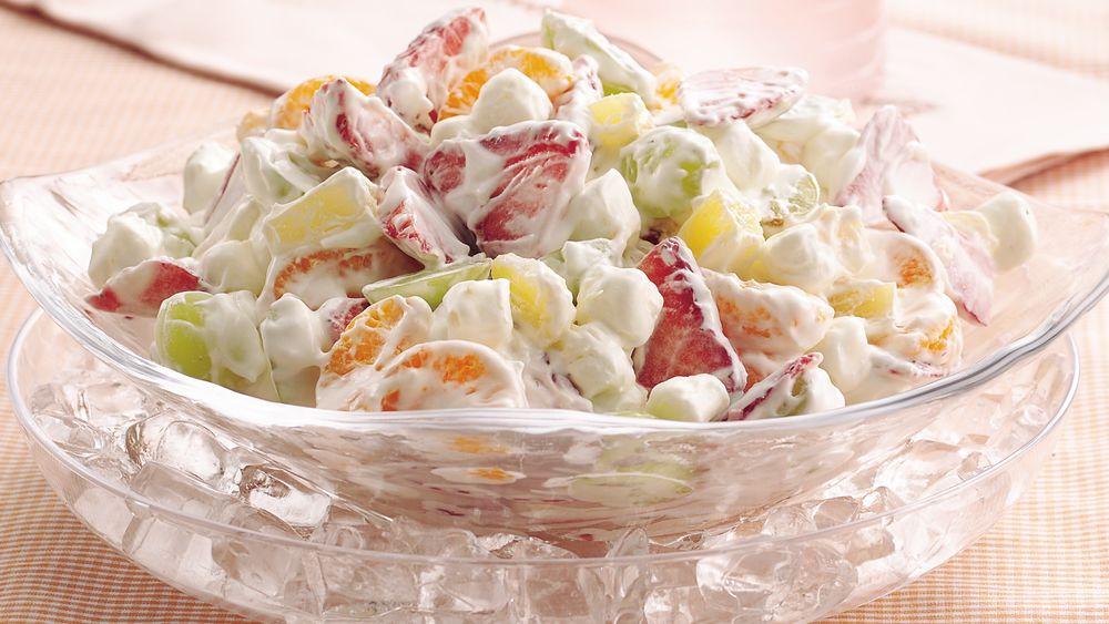 Pudding Fruit Salad
