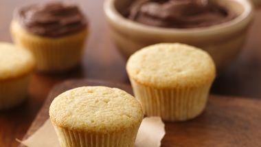 Yellow Cupcakes
