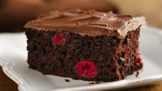Gluten-Free Triple Chocolate Cherry Bars