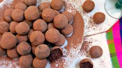 Trufas de Chocolate Mexicano