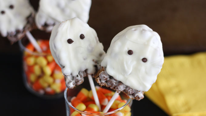 Cocoa Puffs® Halloween Ghost Pops