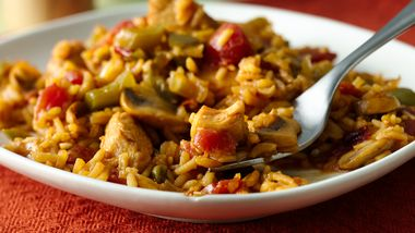 Chicken, Vegetable and Rice Medley