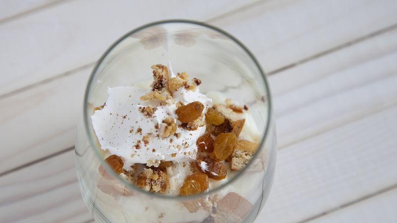 Cinnamon Coffee Cake Rice Pudding Parfait