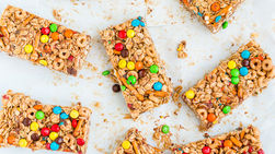 Cheerios™, Chocolate and Peanut Butter Bars