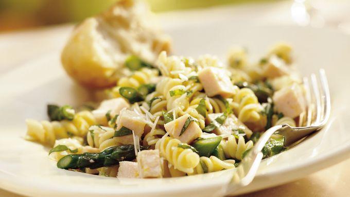 Lemon-Basil Chicken-Pasta Salad
