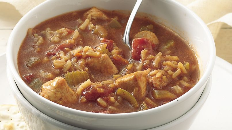 Sopa de Pollo a la Criolla