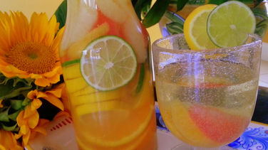 White Wine Sangria with Citrus Fruits