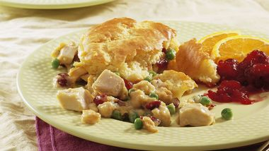 Turkey and Cornbread Stuffing Casserole