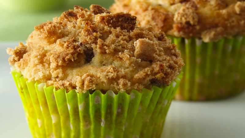 Cinnamon Streusel Cereal Muffins