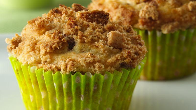 Cinnamon Streusel Cereal Muffins