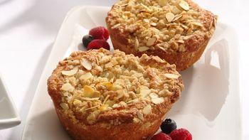 Almond Crumb Cakes