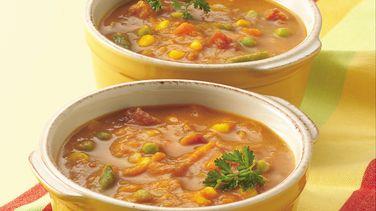 Curried Pumpkin-Vegetable Soup