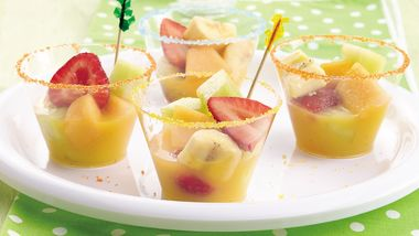 Fresh Fruit Orange Fizz