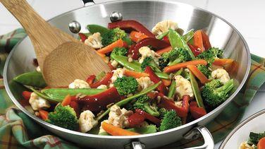 Salad Bar Vegetable Stir-fry