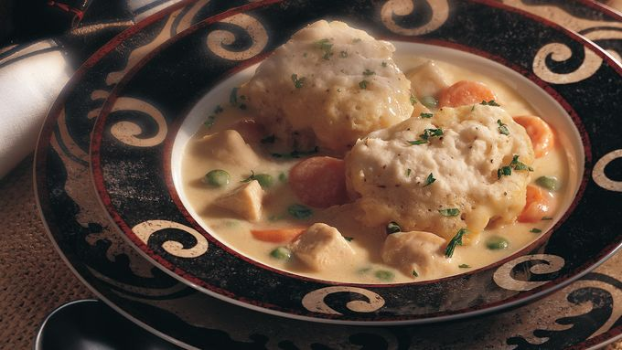 Chicken and Peppery Dumplings