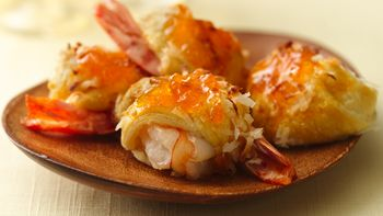 Island Coconut-Shrimp Rolls