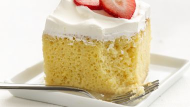 Skinny Tres Leches Cake