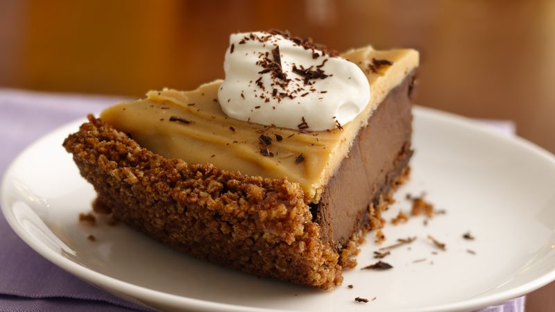 Gluten-Free Double Chocolate Peanut Butter Pudding Pie
