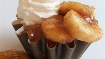 French Quarter Bananas Foster Cupcakes