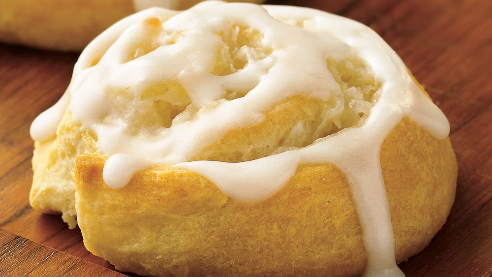 Crescent Lemon Honey Buns