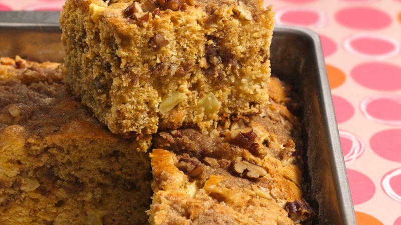 Apple-Pecan Coffee Cake