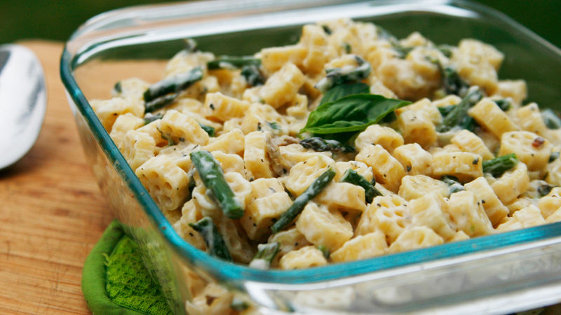 Roasted Spring Vegetable Macaroni and Cheese