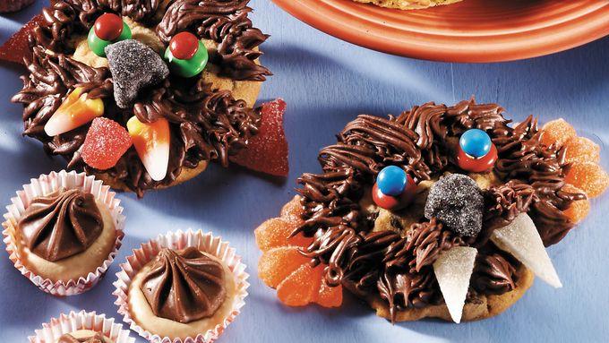 Chocolate Chip Werewolf Cookies