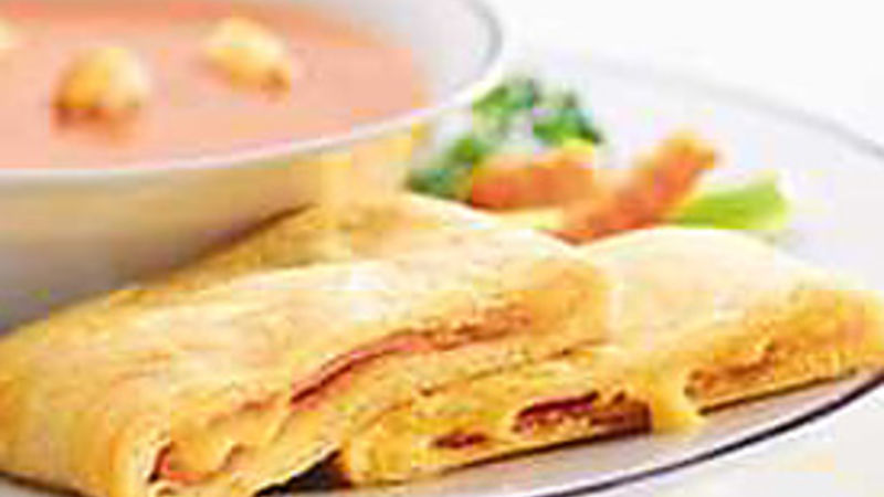 Ham and Cheese Crescent Sandwiches