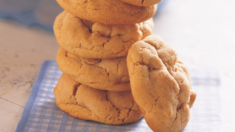 Rich Peanut Butter Cookies