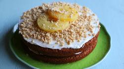 Pastel de Zanahoria y Piña con Cheerios™ Triturados