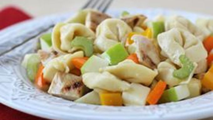 Honey-Mustard Chicken and Apple Tortellini Salad recipe - from ...