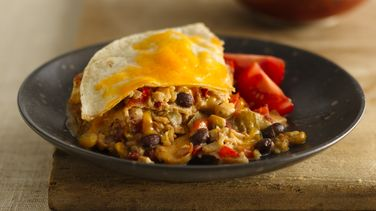 Southwest Chicken Enchilada Casserole
