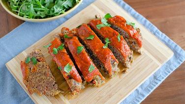 Slow-Cooker Italian Meatloaf