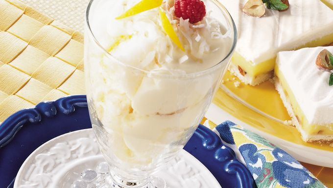 Lemon Angel Parfaits