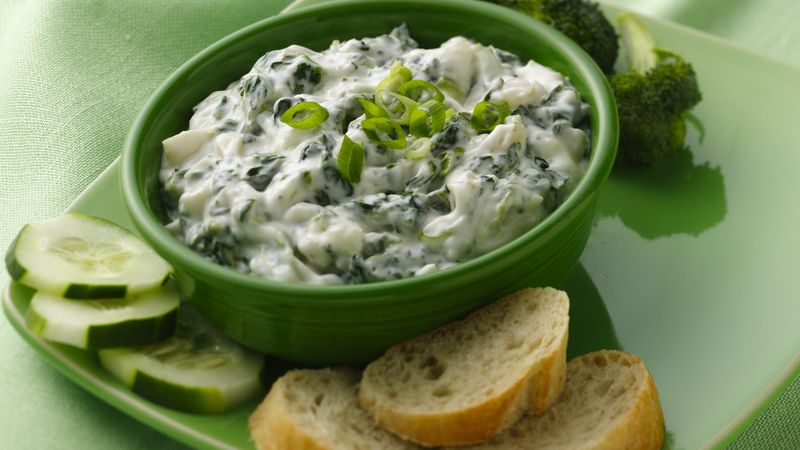 Basil-Spinach Dip