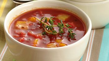Tomato and Roasted Sweet Pepper Soup