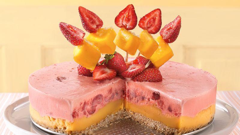 Strawberry-Mango Margarita Dessert
