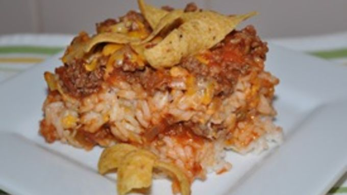Taco Rice Casserole