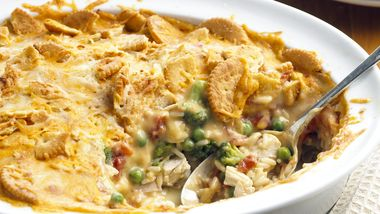 Skinny Creamy Chicken and Rice