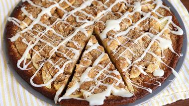 Apple Crisp Cookie Pizza