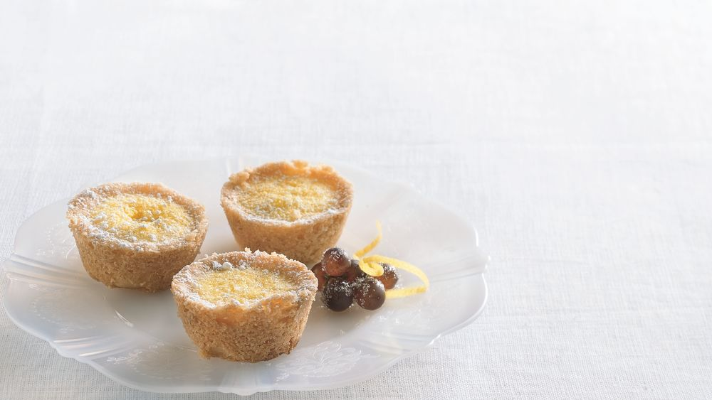 Tiny Lemon Gem Tarts
