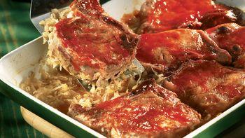 Bavarian Pork Chops
