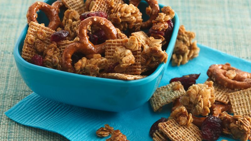 Spiced Cereal Trail Mix