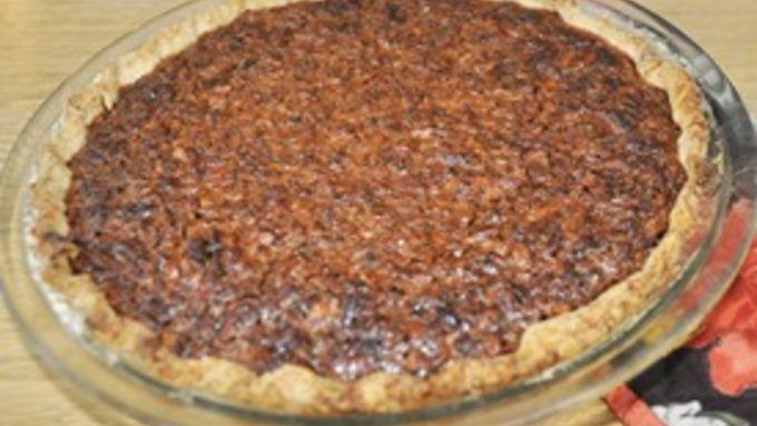 Dark Pecan Pie