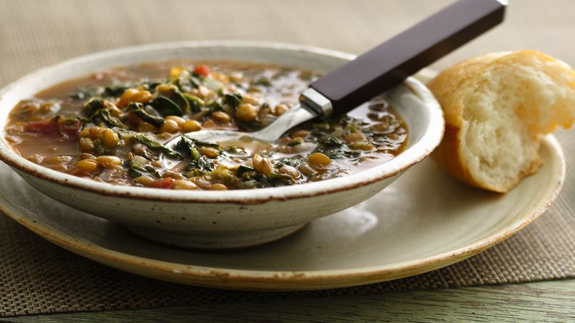 Lentil-Spinach Soup