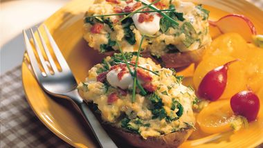 Twice-Baked Cheese Potatoes