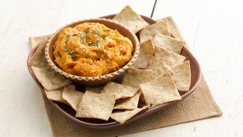 Roasted Sweet Potato Hummus