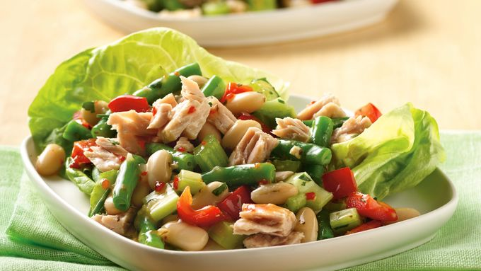 Italian Bean and Tuna Salad